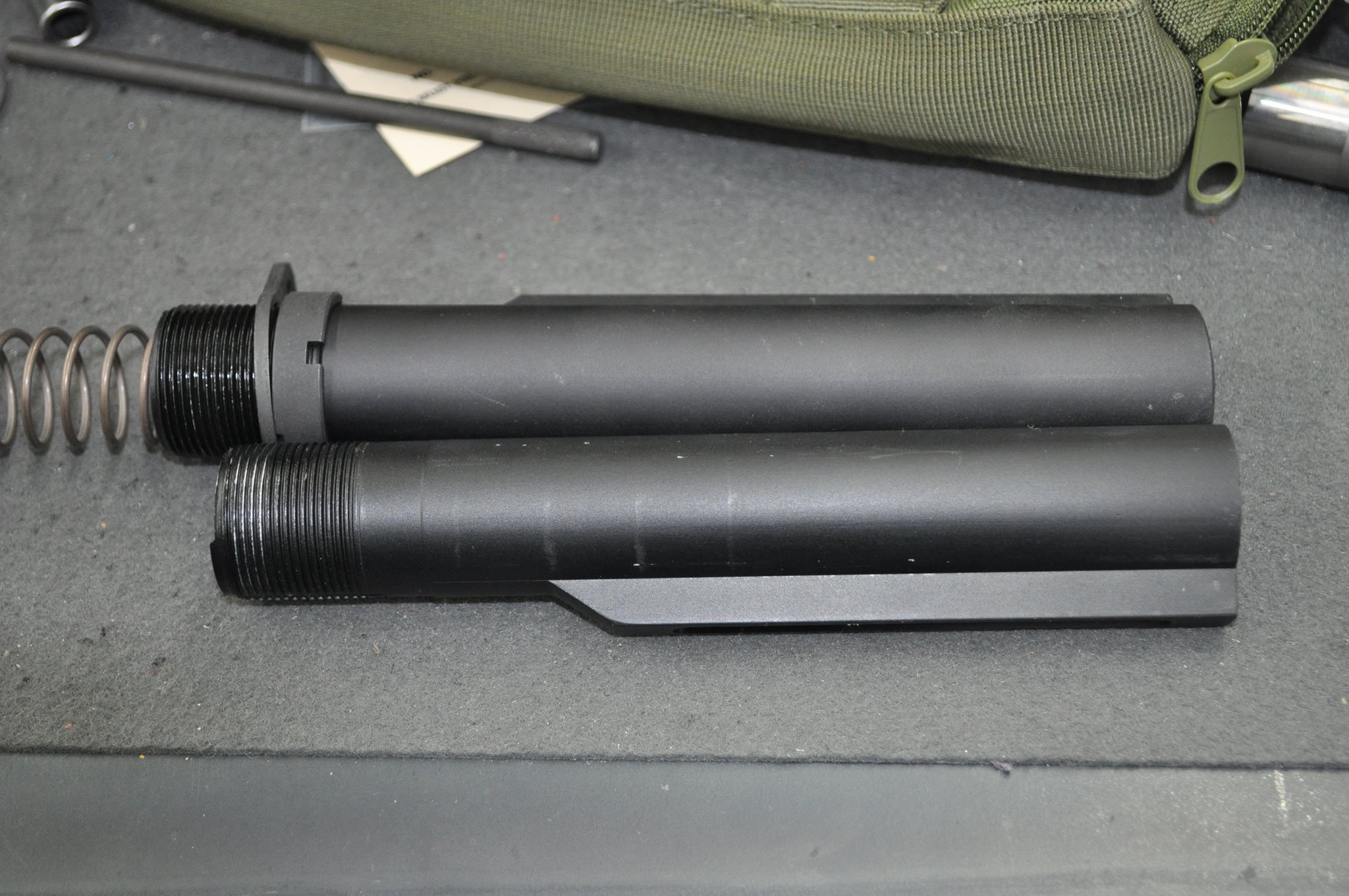 Knock off AR15 buffer tube (airsoft)