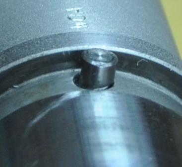 Bent AR15 barrel locating pin
