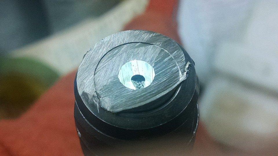 Customer attempted barrel shortening