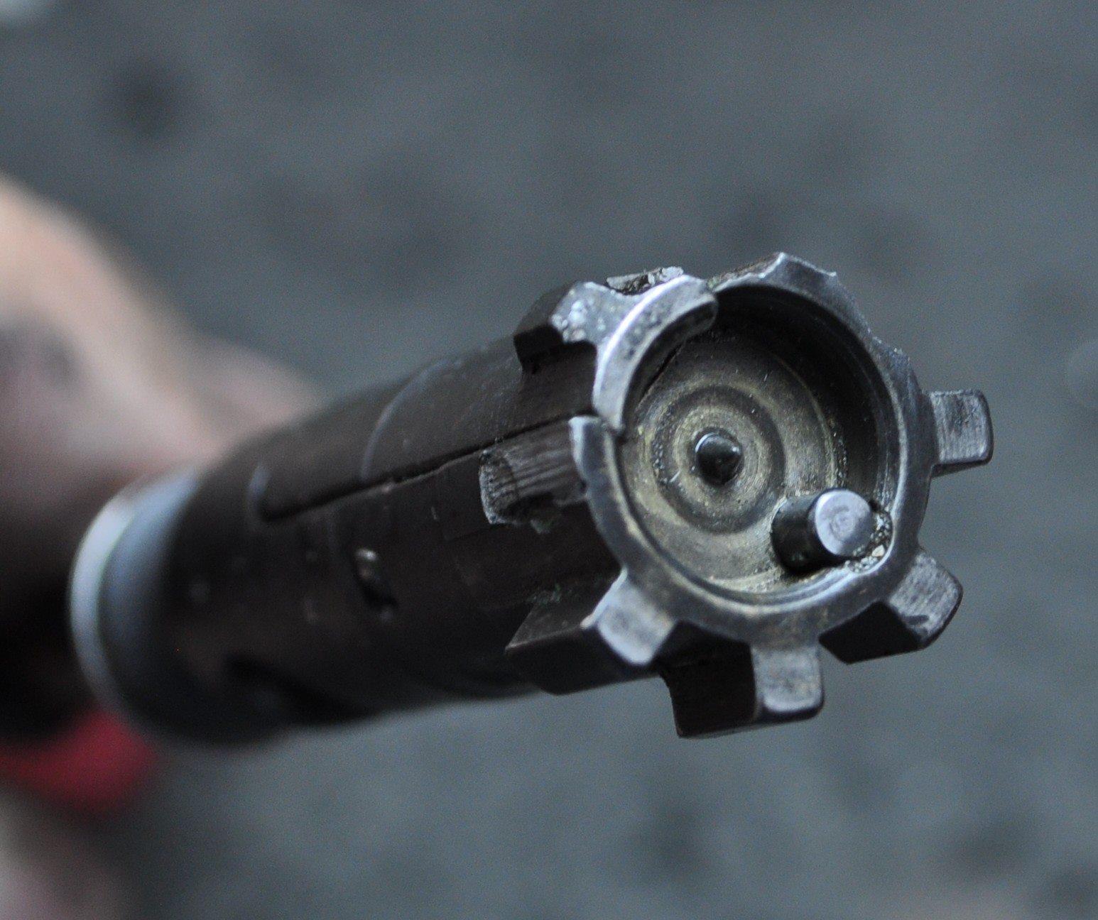 Broken AR15 bolt lugs
