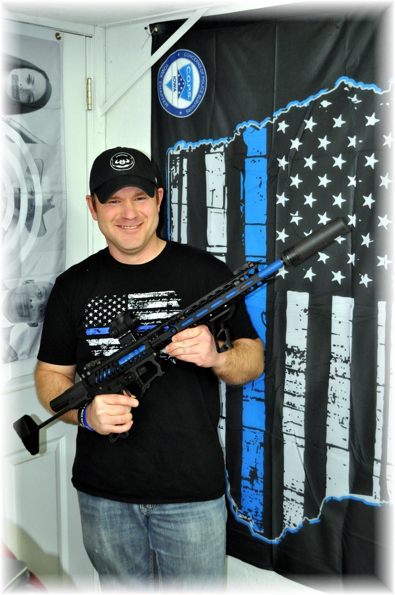 CCA donated rifle to the Iowa COPS chapter