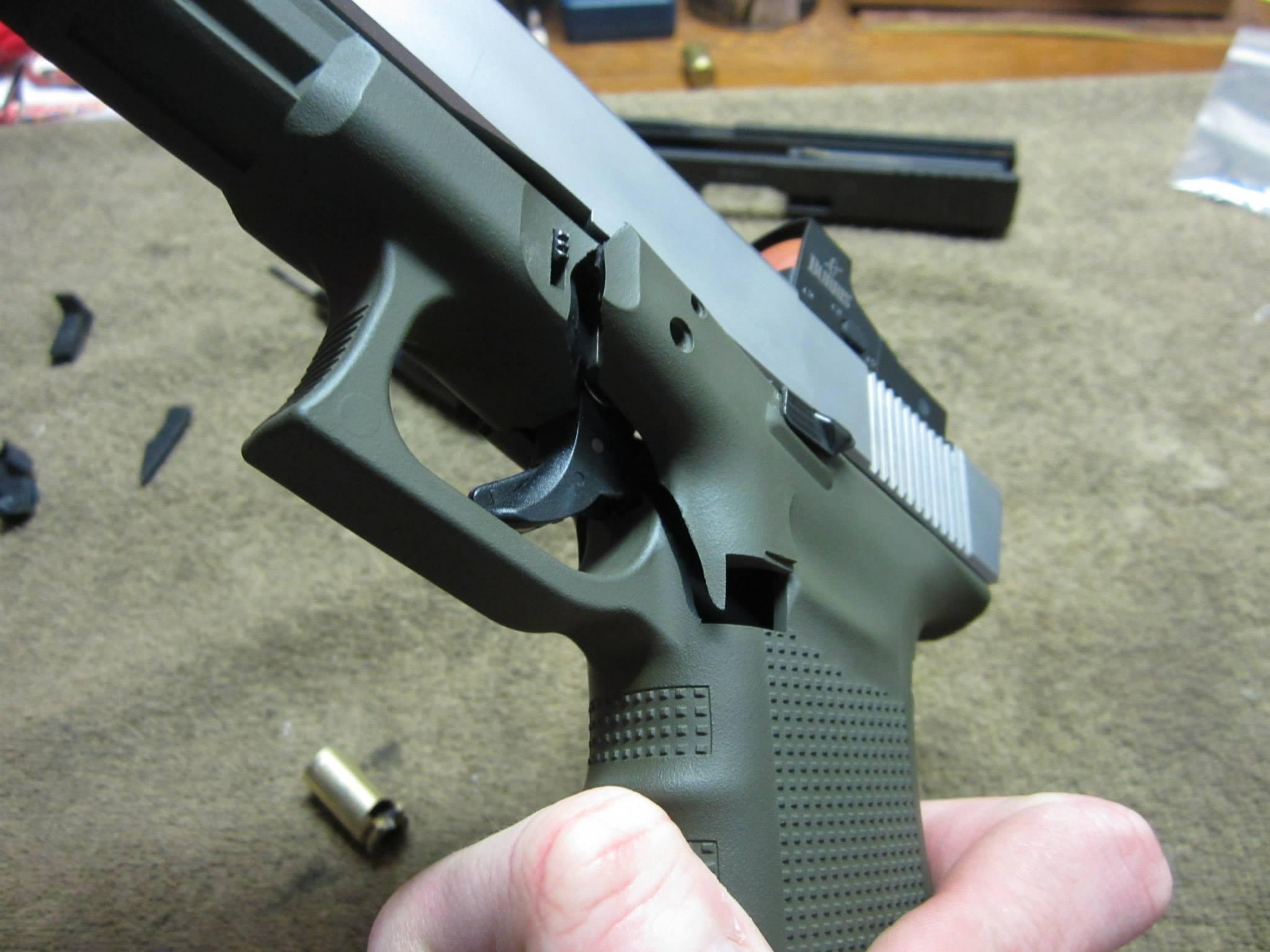 Blown Glock